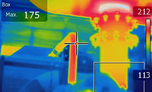 Thermal Scan at Global Power Components