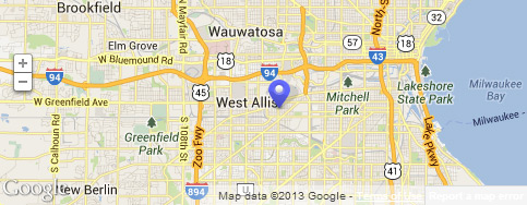 Map of Global Power Components West Allis WI